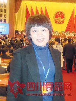 全国人大代表、四川龙兴农业科技有限公司董事长李晓华