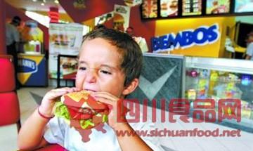 3岁前摄取过多垃圾食品 日后智商或低于同龄人