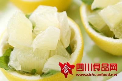 吃柚子好处多 去色斑还减肥